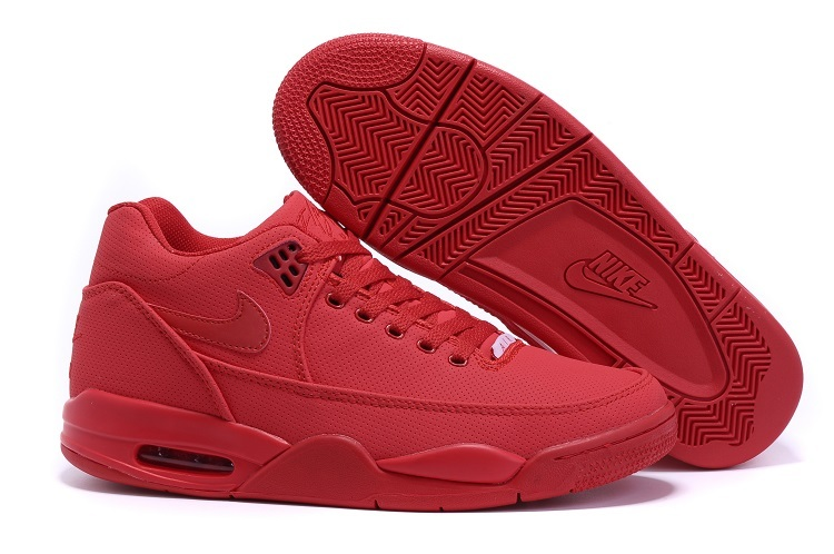 Nike Flight Squad All Red Shoes