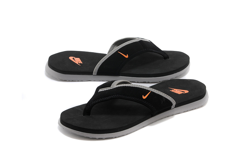 Nike Flip-flops Black Grey Orange Sandal