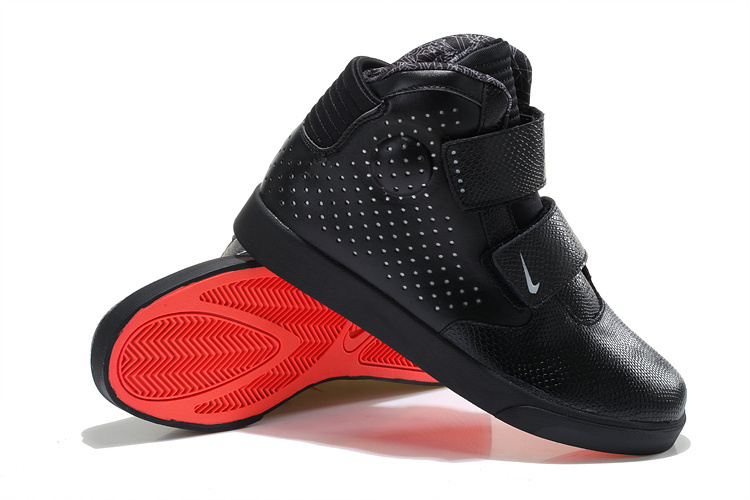 084f42d9b1db Nike Flystepper 2K3 Yeezy All Black Red Sole Shoes