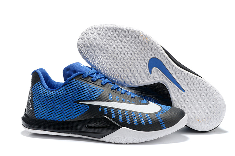 Nike HyperLive EP Low James Harden Blue Black White Shoes