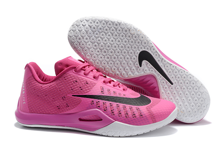 Nike HyperLive EP Low James Harden Pink Black Shoes
