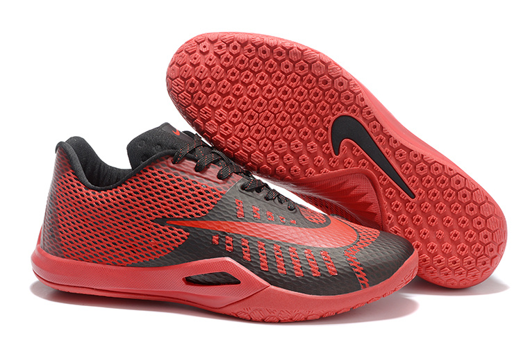 Nike HyperLive EP Low James Harden Red Black Shoes