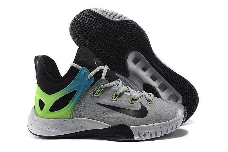 Nike HyperRev 2015 Grey Black Green Shoes