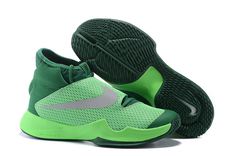 Nike HyperRev 2016 Green Gey Shoes