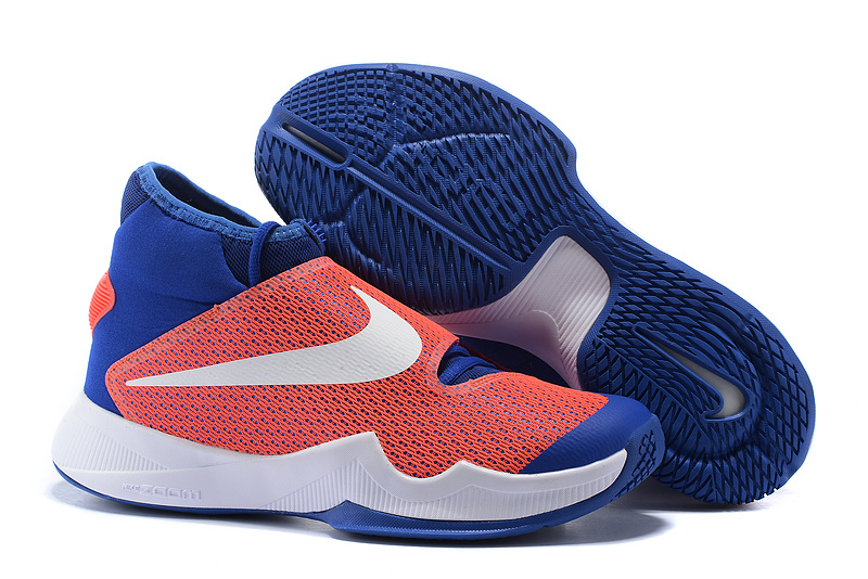 Nike HyperRev 2016 Red Blue White Shoes