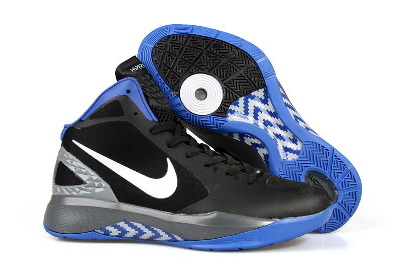Nike Hyperdunk 2011 Griffin Black Blue Shoes
