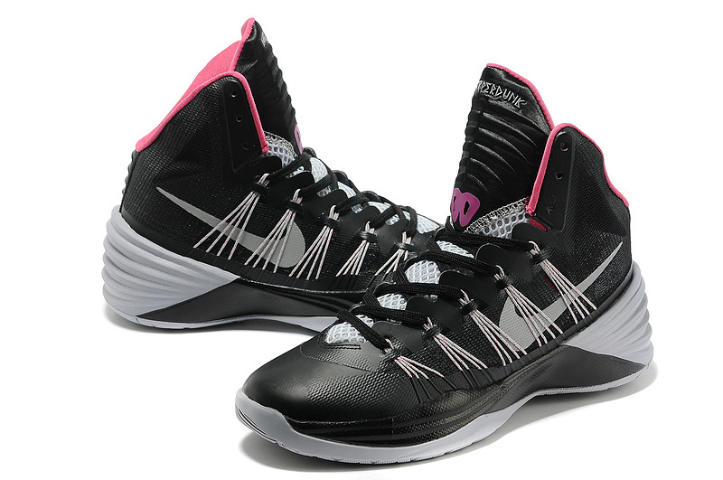 Nike Hyperdunk 2013 XDR Olympic Lebron Black Grey Shoes