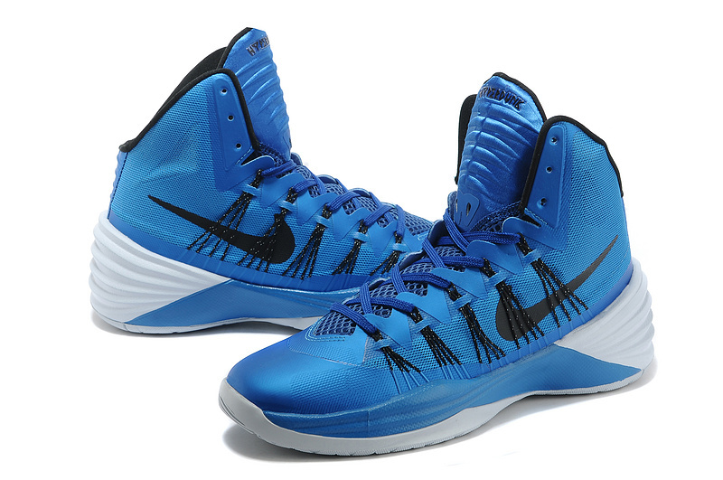 Nike Hyperdunk 2013 XDR Olympic Lebron Blue Black Shoes