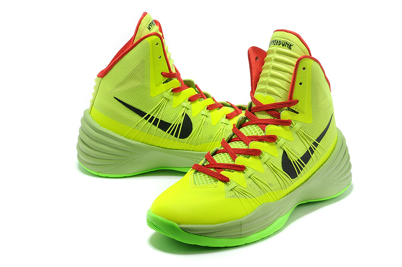 Nike Hyperdunk 2013 XDR Olympic Lebron Green Red Shoes