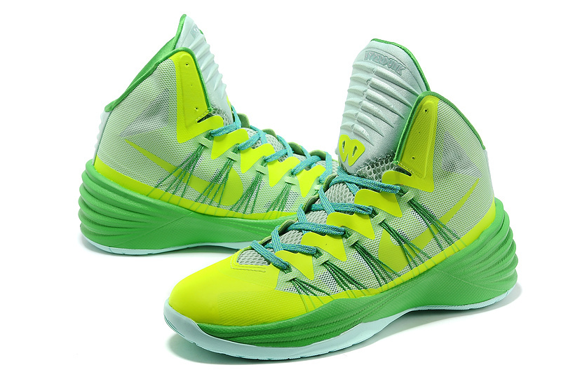 Nike Hyperdunk 2013 XDR Olympic Lebron Green Shoes