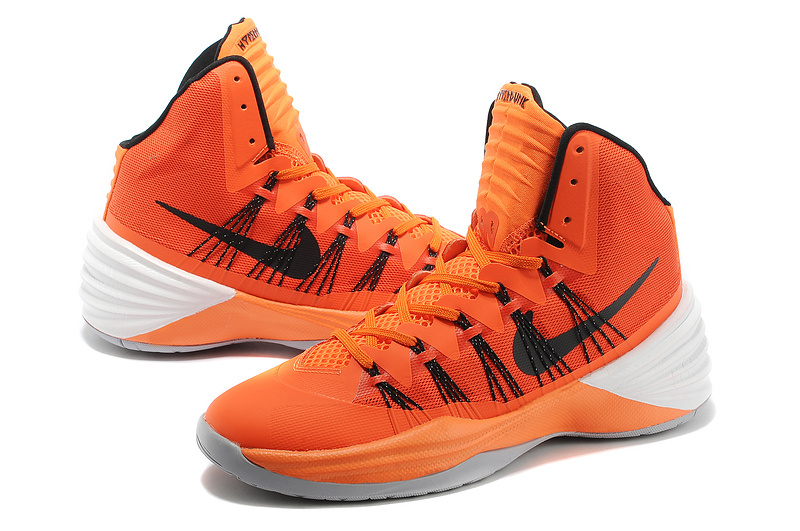 Nike Hyperdunk 2013 XDR Olympic Lebron Orange Black White Shoes