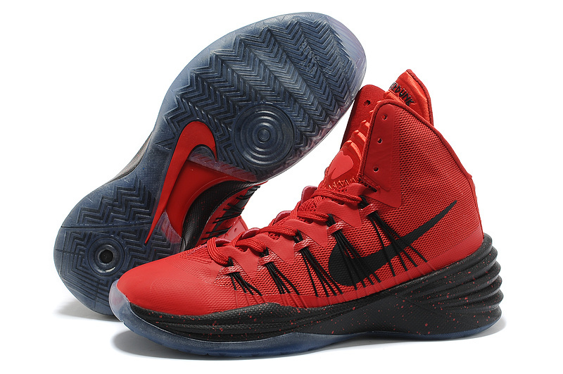 Nike Hyperdunk 2013 XDR Olympic Lebron Red Black Shoes