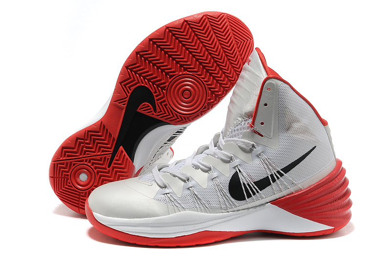 Nike Hyperdunk 2013 XDR Olympic Lebron Silver White Red Shoes