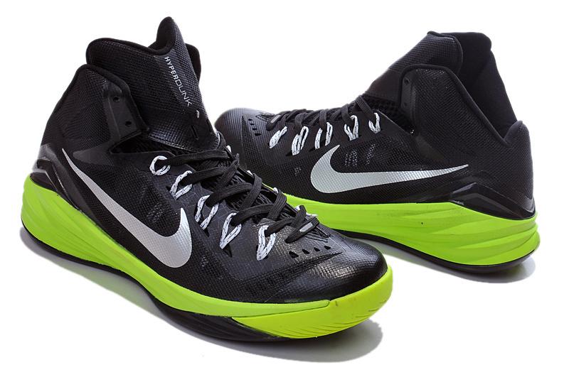 Nike Hyperdunk 2014 Black Green Shoes