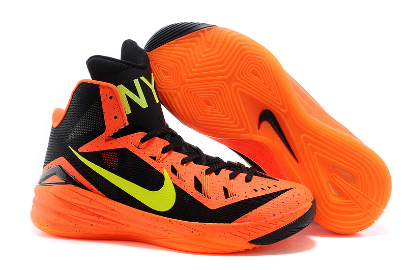 24cbe6824800 Nike Hyperdunk 2014 XDR Black Orange Yellow Shoes  NHX15  -  80.00 ...