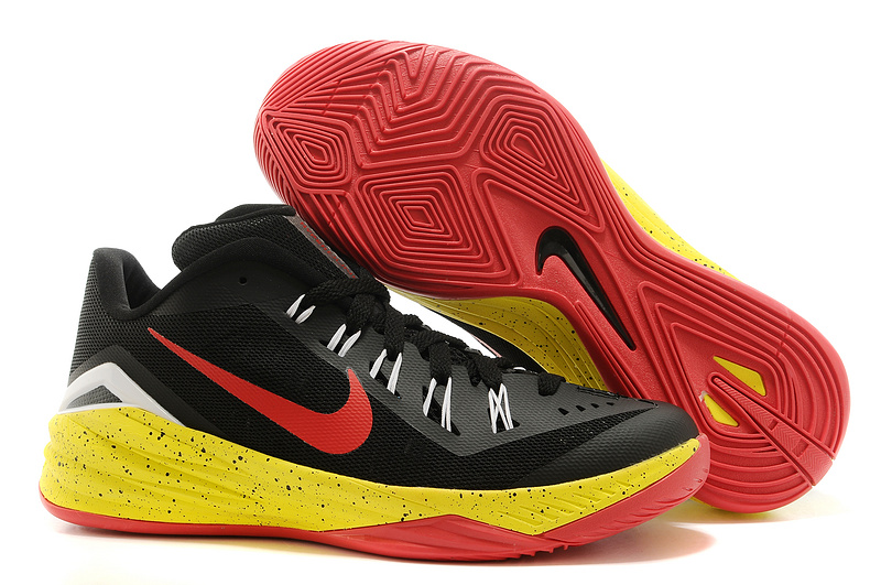 Nike Hyperdunk 2014 XDR Black Red Yellow Shoes