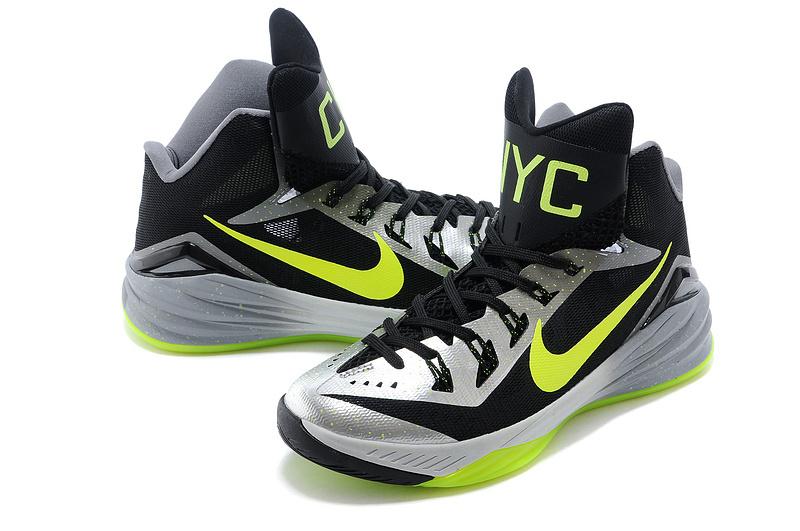 Nike Hyperdunk 2014 XDR Black Silver Green Shoes