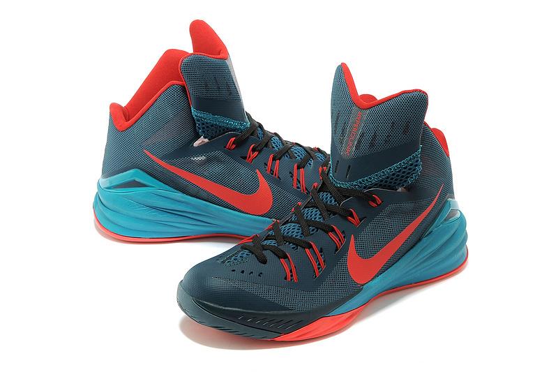 Nike Hyperdunk 2014 XDR Blue Orange Green Shoes