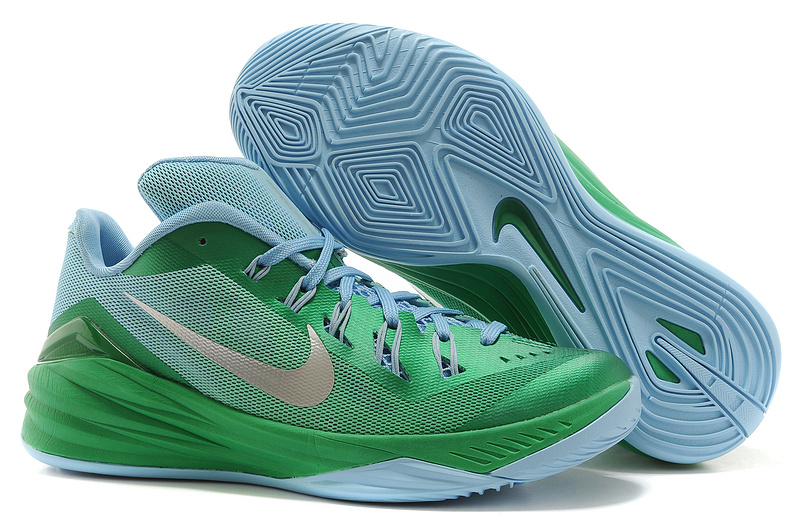 Nike Hyperdunk 2014 XDR Green Silver Shoes
