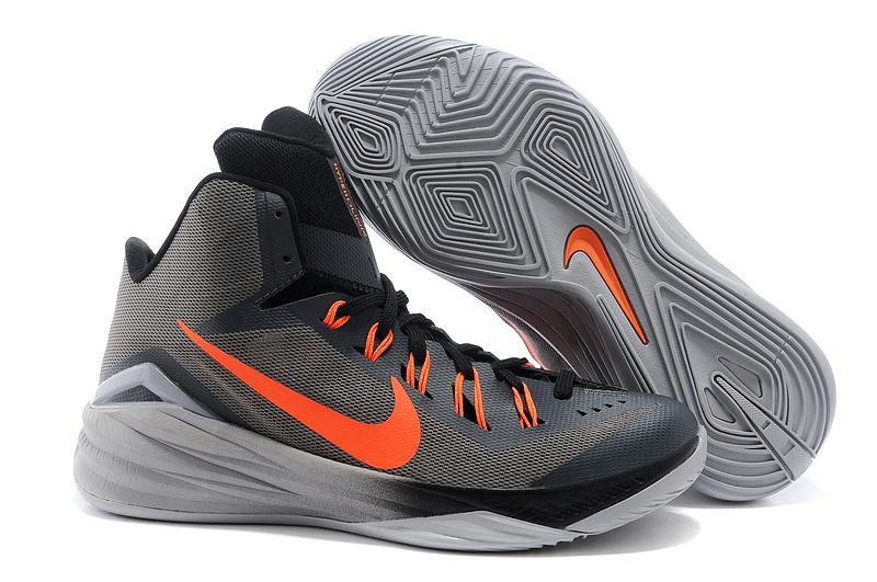 Nike Hyperdunk 2014 XDR Grey Black Orange Shoes