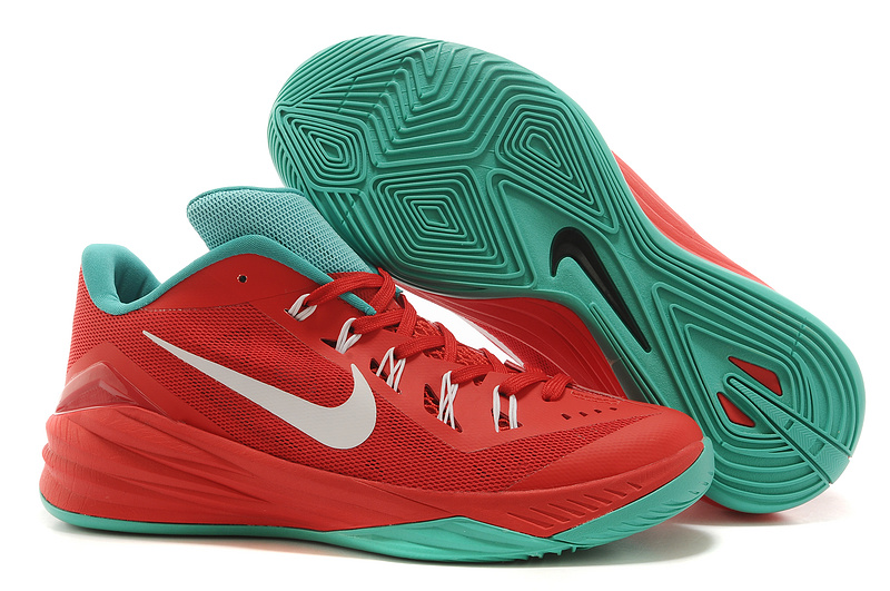 Nike Hyperdunk 2014 XDR Low Red Green Shoes