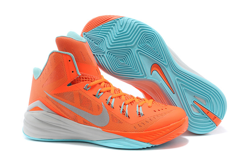 sports shoes f406b 6f36f ... 50% off nike hyperdunk 2014 xdr orange white baby blue shoes dc6c7 fd482