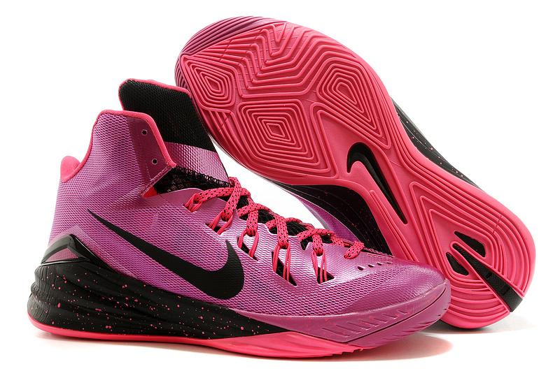 Nike Hyperdunk 2014 XDR Pink Black Shoes