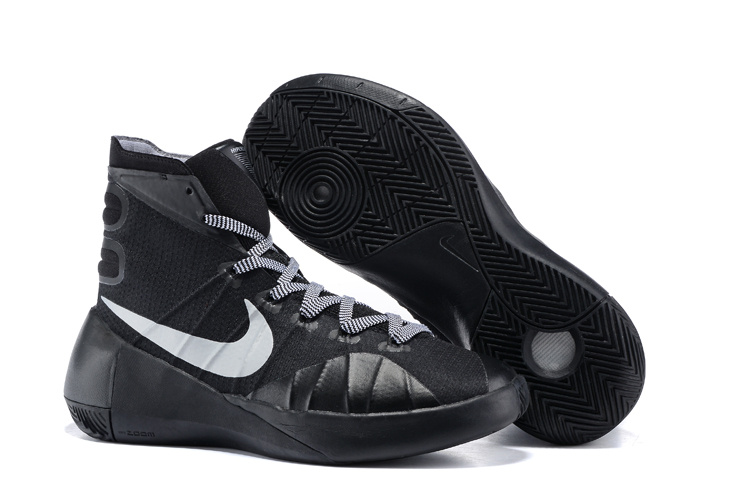 Nike Hyperdunk 2015 All Black Basketball Shoes