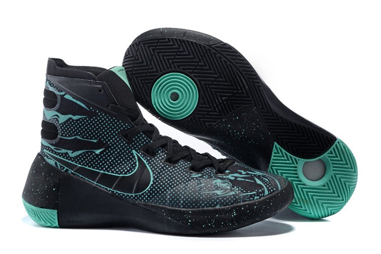 Nike Hyperdunk 2015 All Star Black Green Shoes