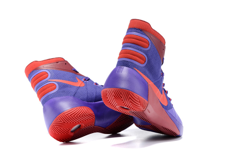 Nike Hyperdunk 2015 Purple Red Basketball Shoes [NNIKE014]  $102.00