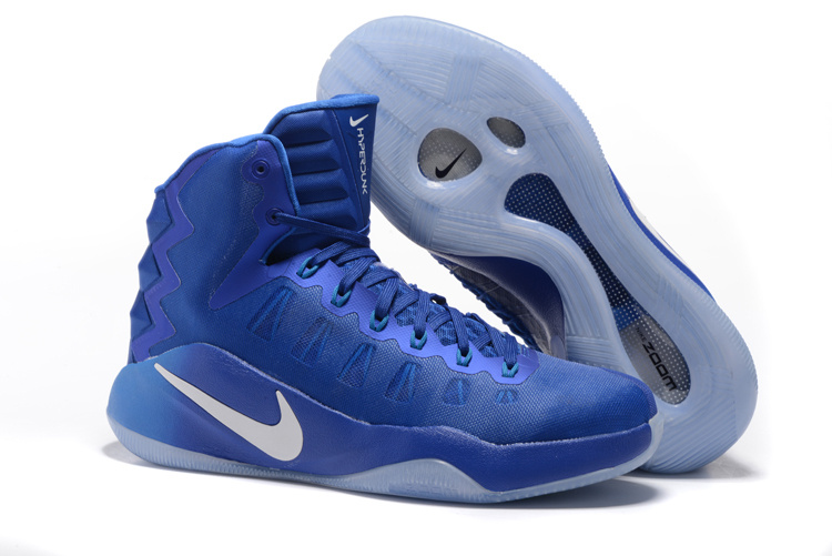 Nike Hyperdunk 2016 Olympick All Blue Shoes