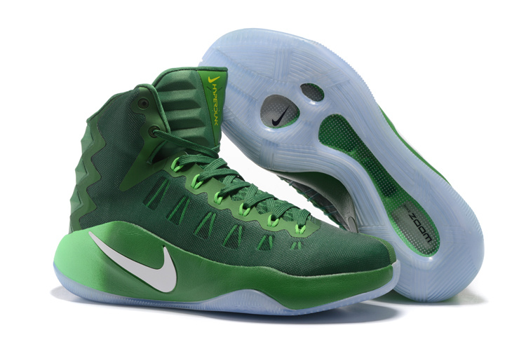Nike Hyperdunk 2016 Olympick All Green Shoes