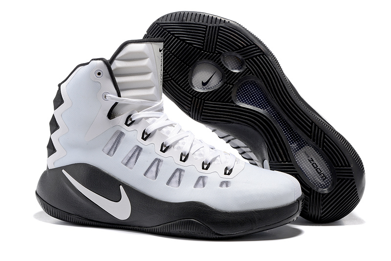 Nike Hyperdunk 2016 White Black Shoes