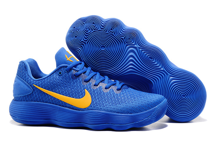 Nike Hyperdunk 2017 Blue Yellow Shoes