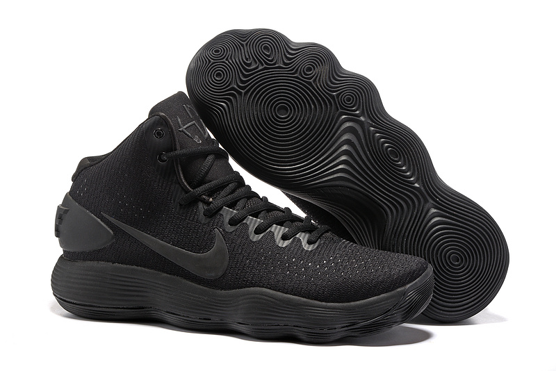 Nike Hyperdunk 2017 EP High All Black Shoes