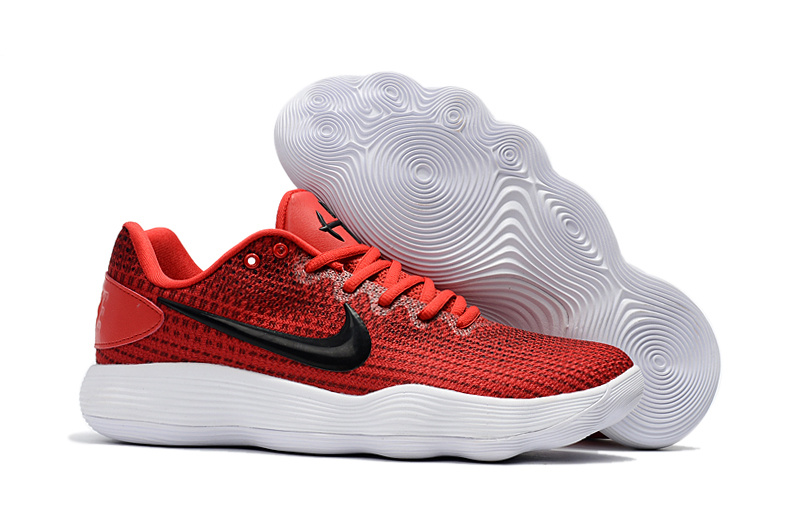 Nike Hyperdunk 2017 Low Red Black White Shoes