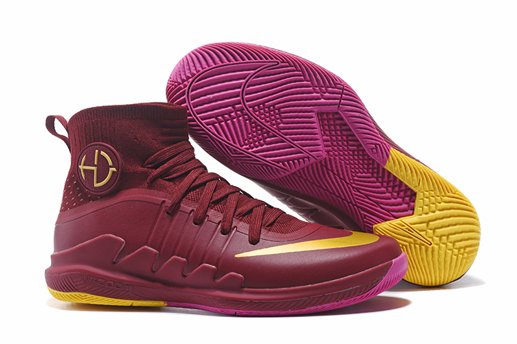 Nike Hyperdunk Green 3 Wine Red Shoes