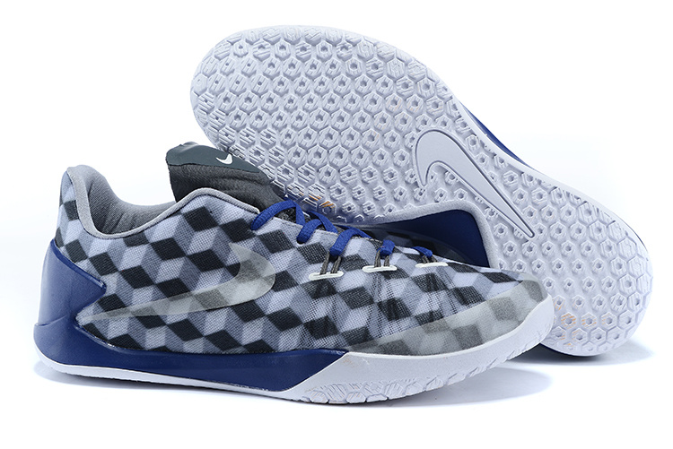 Nike James Hardan 1 Grey Blue White Shoes