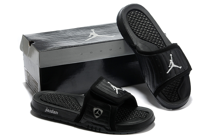 Nike Jordan 14 Massage Hydro Sandal All Black