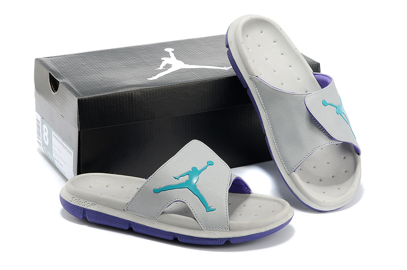 Nike Jordan Massage Hydro Grey Green Sandal