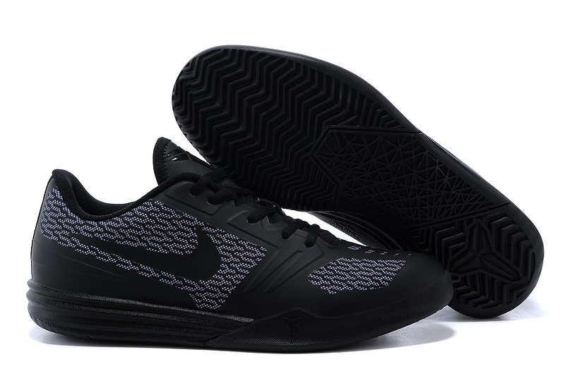 all black kobe shoes