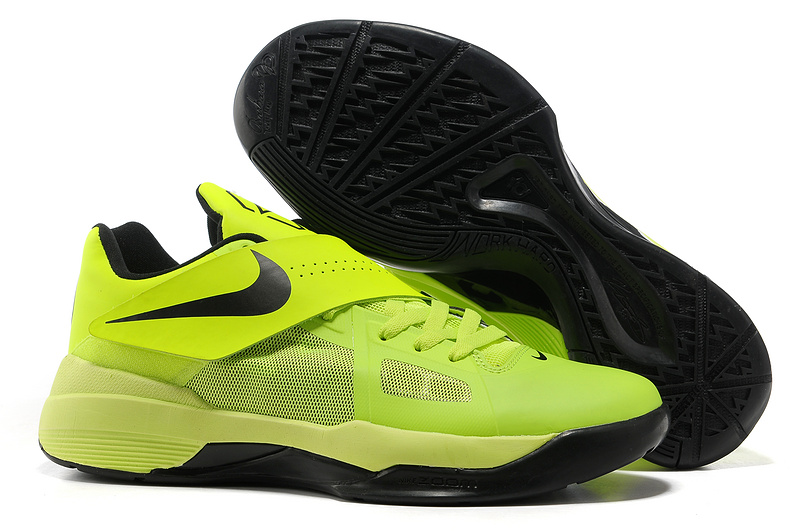 Nike Kevin Durant 4 Green Black Shoes
