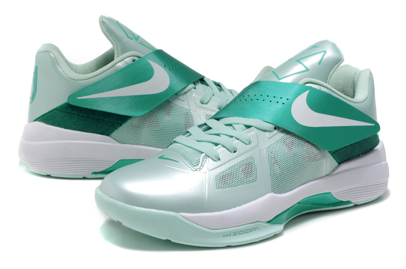 Nike Kevin Durant 4 Light Green White Shoes
