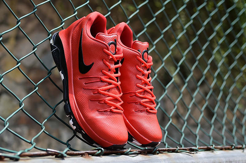Nike KD 8 Air Zoom Cushion Red Black Shoes