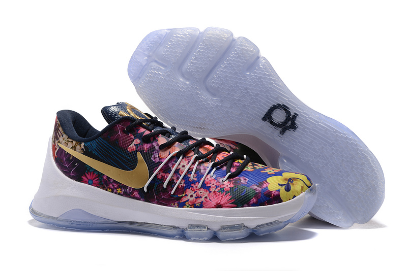 Nike KD 8 Colorful Followers Print Shoes