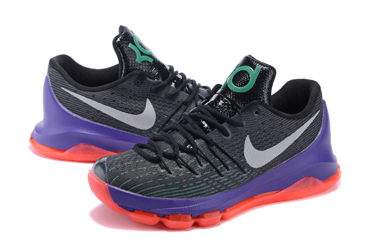 kd 8 purple and orange Kevin Durant