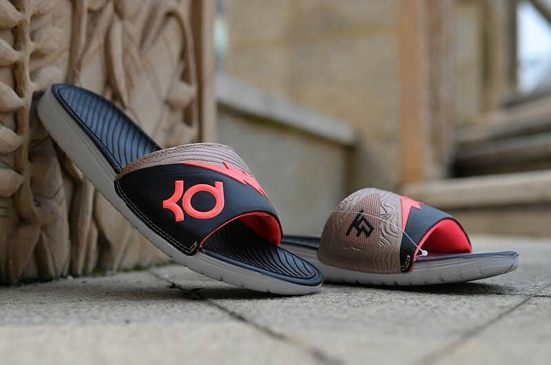 Nike KD Hydro Black Gold Sandal.