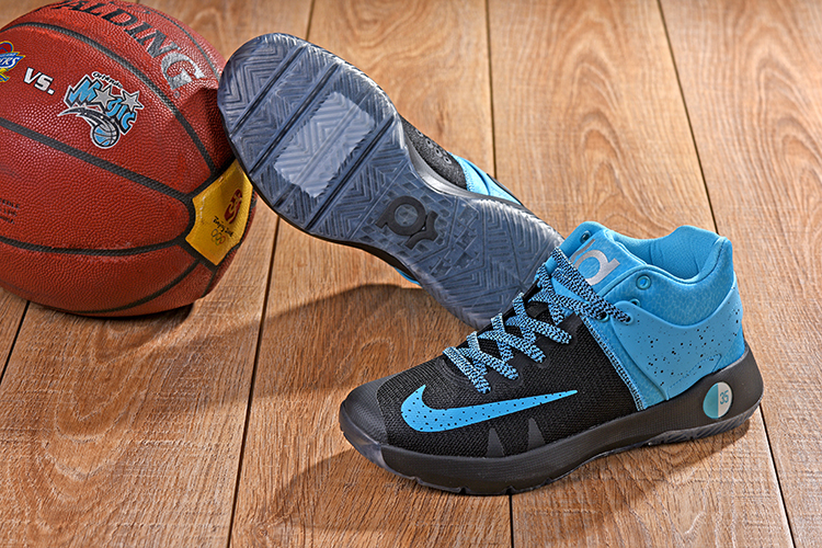 Nike KD Trey 5 Black Blue Jade Shoes