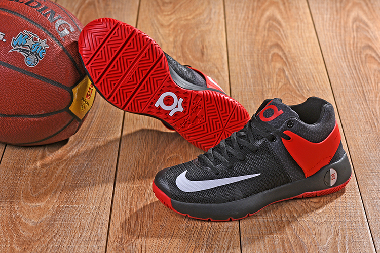 Nike KD Trey 5 Black Red White Shoes