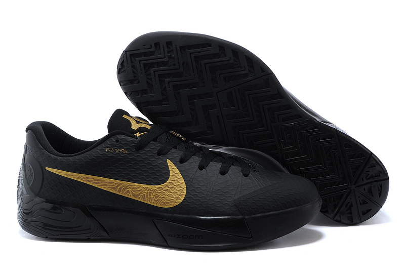 Nike KD Trey 5 II Black Gold Shoes